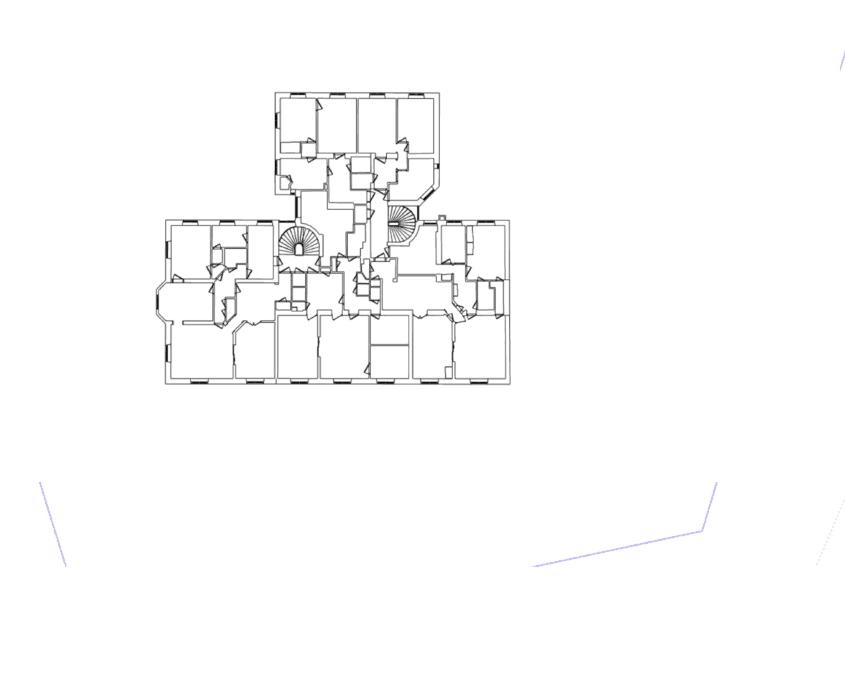 3d modell från laserskanning 2d planritning