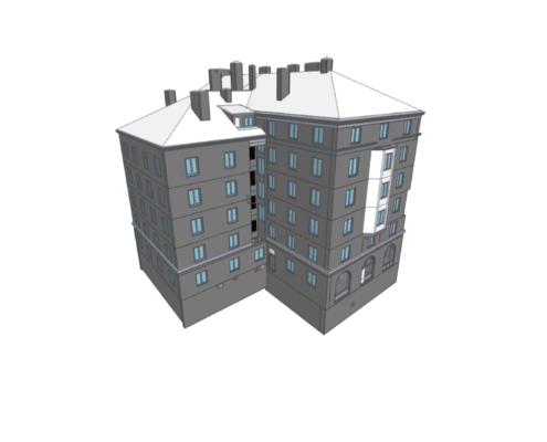 3d modell från laserskanning ifc