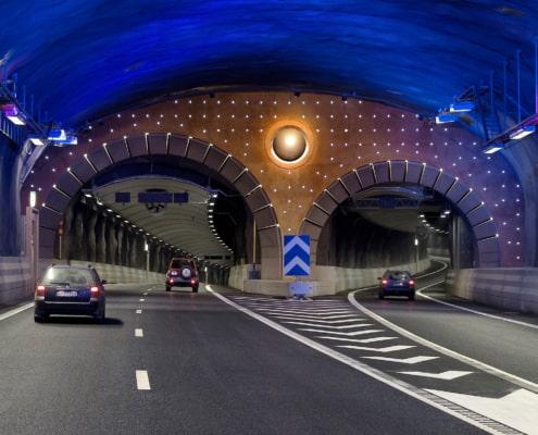 Södra länken tunnelbygge